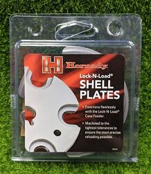Hornady Shell Plate Lock N Load AP 9mm Luger 9x21 Size #8 392608 $59.94
