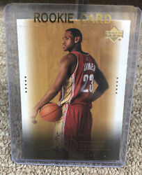 2003 UPPER DECK LEBRON JAMES RC READY OR NOT #30 NEW $65.99