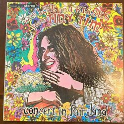 TINY TIM With Love and Kisses Concert in Fairyland 1968 FREE SHIPPING VG Cond. $6.75