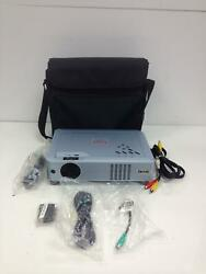 Eiki Brilliant Home Theatre Projector LC XB24 with Used Bulb 1078Hrs plus Cables