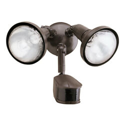 Halo MS245R 2 Light 8quot;W Commercial Flood Light Bronze