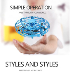 Mini RC Helicopter UFO Drone Aircraft Hand Infrared Sensing RC Small Helicopter $22.99
