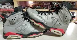 NIKE AIR JORDAN RETRO 6 REFLECTIONS OF A CHAMPION MENS SIZE 9🔥USED CONDITION 👍
