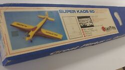 Great Planes Super KAOS 60 vintage balsa airplane kit. missing some parts. $99.99