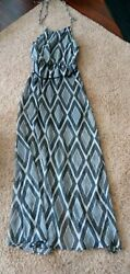 Charlotte Russe Juniors Size SMALL Maxi Beach Dress NEW with Tags $11.99