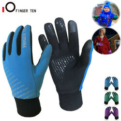Thermal Soft Warm Kids Winter Gloves Windproof Running Cycling for Boys Girls $8.99