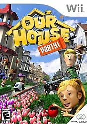 Our House: Party for Nintendo Wii WII Action Adventure Video Game $5.48