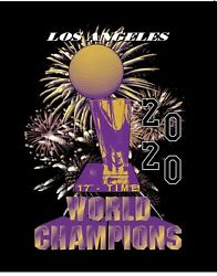 NEW Undefeated Lakers 2020 Finals Champion Medium *SOLD OUT* FREE SHIPPING $49.99