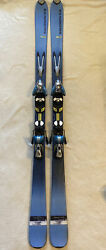 Salomon Scream 8 Pilot skis 170cm w Salomon S810 Pilot adjustable ski bindings $114.00