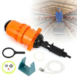 Auto Fertilizer Injector Dispenser Garden Watering Device 0.4% 4% Ratio Setting $69.08