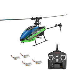 Eachine E119 2.4G 4CH 6 Axis Gyro Flybarless RC Helicopter RTF 4pcs Batteries $82.60