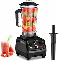 Professional Countertop Blender with 2200 Watt Base Built in Timer Self Cleaning $80.98