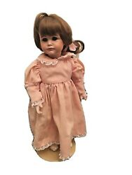 Reproduction Antique German Doll 14quot; w stand Pouty Character Kammer amp; Reinhardt $75.00