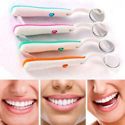 Bright Oral Mouth Mirror Light Reusable Mouth Mirror Dental With LED $2.78