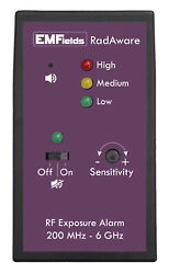 RadAware RF Meter and Alarm System from EMFields $170.00