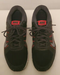 Nike Dart XII 12 Mens Athletic Running Shoes Black Red Size 9 Style 831532 006 $19.95