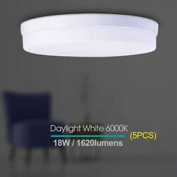 5 X 18W LED Ceiling Cool Light Modern Fixture Bedroom Kitchen Surface Mount Lamp $36.99