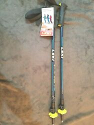 Leki Vario XS Adjustable Ski Poles Kids#x27; 2021 $54.49