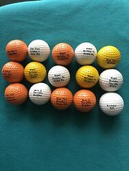 15 Novelty Birthday Golf Balls $19.99