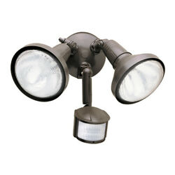 Halo MS185 2 Light 8quot;W Commercial Flood Light Bronze