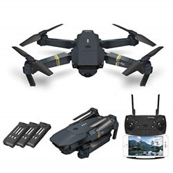 Quadcopter Drone With Camera Live Video EACHINE E58 WiFi FPV Quadcopter with HD $105.13