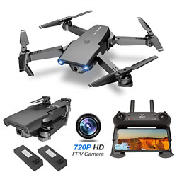 NEHEME NH525 Foldable Drones with 720P HD Camera for Adults RC Quadcopter WiFi $72.75