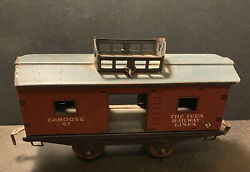 Two Vintage Train cars probable O guage ?? $20.00
