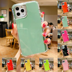 For iPhone 12 11 Pro Max SE 2020 XR Xs 8 3in1 Shockproof Case Cute Hybrid Cover $7.67