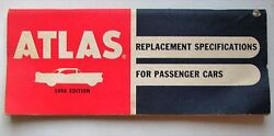 1956 Atlas Replacement Specifications Book Cars $5.99