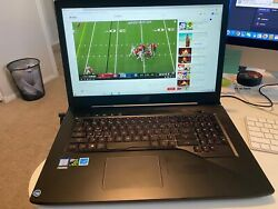 Asus gaming laptop Model Asus GL703V $1200.00