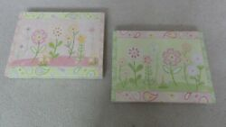 Target Collection Flower Canvas Wall Paintings x2 $6.00