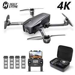 Holy Stone HS720 Foldable 5G FPV GPS Drone 4K Camera Quadcopter Brushless Case $199.99