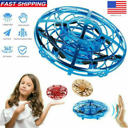 360° Mini Drone Smart UFO Aircraft for Kids Flying Toys RC Hand Control Xmas NEW $16.39