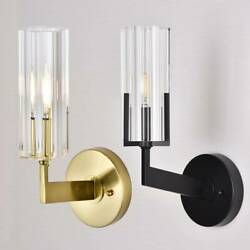 Hallway crystal wall lamp sconce home Led fixtures bedside wall lighting XAMS