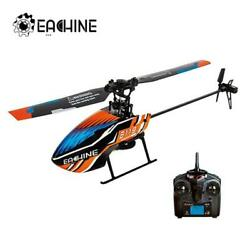 Eachine E119 2.4g 4ch 6 axis 4ch Flybarless Rc Helicopter Rtf Optional Mode Righ $78.49