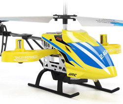 JJRC RC Helicopter Aircraft with 4 Channel Altitude Hold Flying Toy in Sturdy $55.04