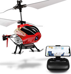 Cheerwing U12S Mini RC Helicopter with Camera Remote Control Helicopter for Kids $61.85