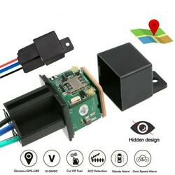 GPS Car Tracker Real Time Device Locator Anti theft Remote Control Hidden 10 40V $19.64