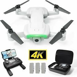 Holy Stone HS510 Foldable Tapfly Drone 4K HD Wifi Camera Quadcopter FPV GPS Case $169.99