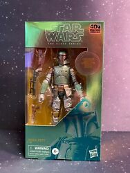 2020 Star Wars Black Series 6 inch ESB 40th Carbonized Boba Fett NON Mint $24.99