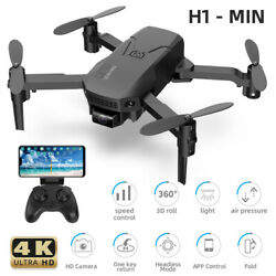 H1 Mini FPV Wifi Drone With HD Camera Aircraft Foldable Quadcopter Selfie Toys $34.38