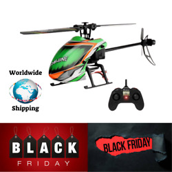 NEW Eachine 2.4G 4CH 6 Axis Gyro Altitude Hold Flybarless RC Helicopter RTF $124.99