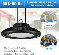 300W Led Light High Bay Warehouse Fixture Ufo Lamp Lighting Commercial Lights