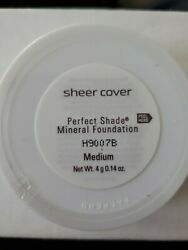 Sheer Cover Perfect Shade Mineral Foundation $30.00