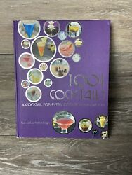 1001 Cocktails A Cocktail For Every Occasion And Mood By Robbie Bargh 2009 $15.00