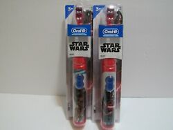 Oral B Kids Star Wars Toothbrush Star Wars chewbacca Battery Operated NEW $20.00