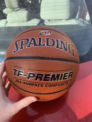 Spalding TF Premier Indoor Outdoor Basketball Men#x27;s Size 29.5 $25.00