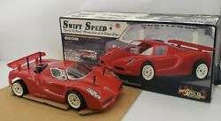Vintage Swift Speed Velocity Of Beast Racing Car World Racing Gas Remote Control $1499.95