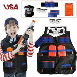 Tactical Game Vest Kit Accessories for Nerf Guns Kids N Elite Series Foam Darts $14.99