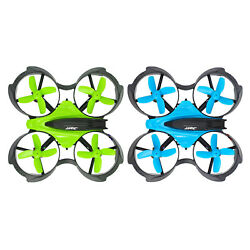 RC Drone Mini Small Light Altitude Hold 2.4Ghz Quadcopter for Kids Blue Green $16.68
